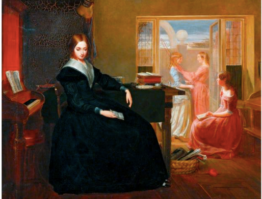 The Governess by Richard Redgrave Date painted: 1844 Oil on canvas, 71.1 x 91.5 cm